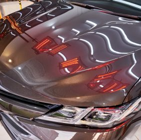 infrared drying car