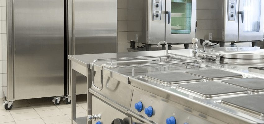 Example of commercial kitchen